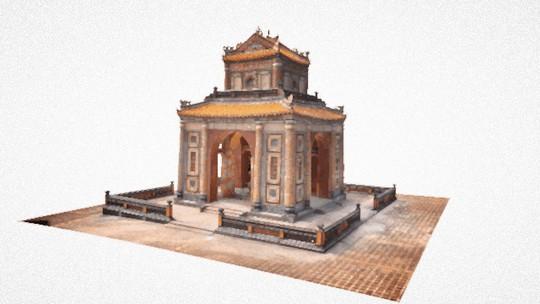 Lăng Tự Đức được Google số hóa 3D và tôn vinh nhân ngày Di sản thế giới - Ảnh 4.