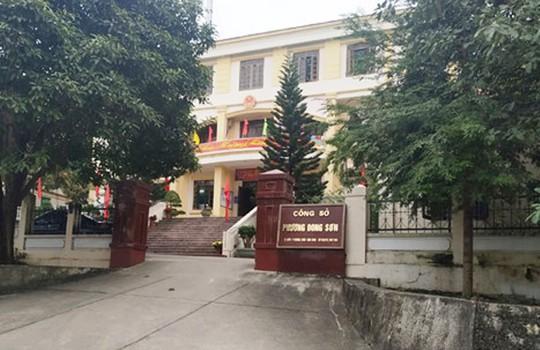 Một bí thư phường ở Thanh Hóa bị khởi tố do câu kết với cấp dưới làm hồ sơ giả - Ảnh 1.