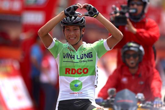 Giải xe đạp tranh Cúp Truyền hình TP HCM: Vũ Thành An về nhất chặng 6 - Ảnh 1.