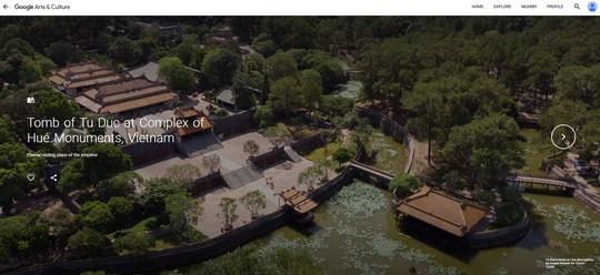 Lăng Tự Đức được Google số hóa 3D và tôn vinh nhân ngày Di sản thế giới - Ảnh 1.
