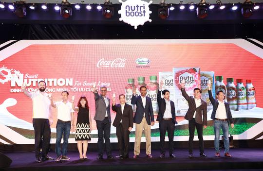 Coca-Cola ra mắt bộ sản phẩm sữa nước Nutriboost mới - dinh dưỡng thông minh - Ảnh 1.