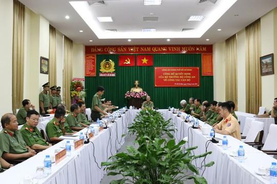Đại tá Nguyễn Sỹ Quang làm Phó Giám đốc Công an TP HCM - Ảnh 1.