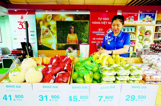 Saigon Co.op thêm nhiều cơ hội cho hàng Việt