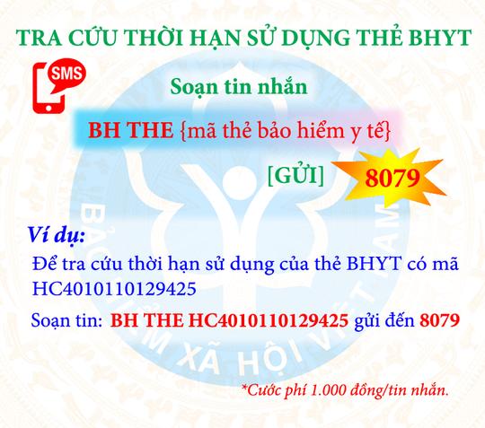 Tra cứu đóng, hưởng BHXH, BHYT bằng tin nhắn điện thoại - Ảnh 4.