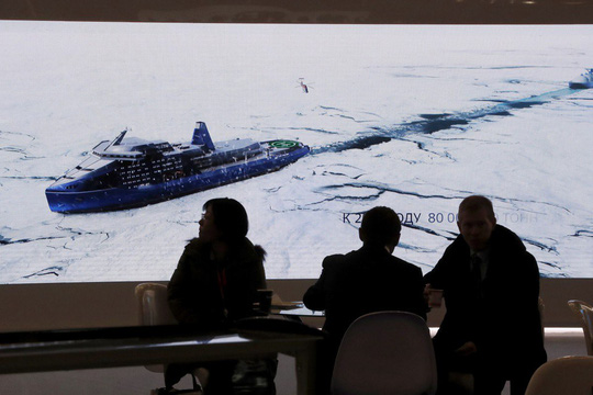 Nga bắt tay Trung Quốc đối trọng Mỹ ở Bắc Cực - Ảnh 1.