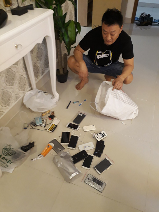 Bat 3 nghi pham Han Quoc cam dau duong day danh bac tram ti qua Internet