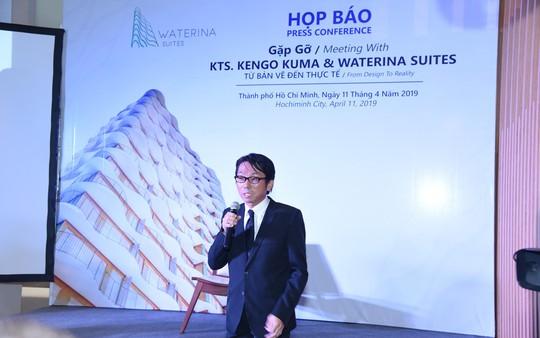 Kiến trúc sư Kengo Kuma: Từ bản vẽ đến công trình thực tế - Ảnh 4.