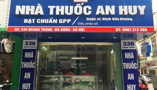 Nhà thuốc An Huy - địa chỉ mua thuốc uy tín ở Hà Nội - Ảnh 1.