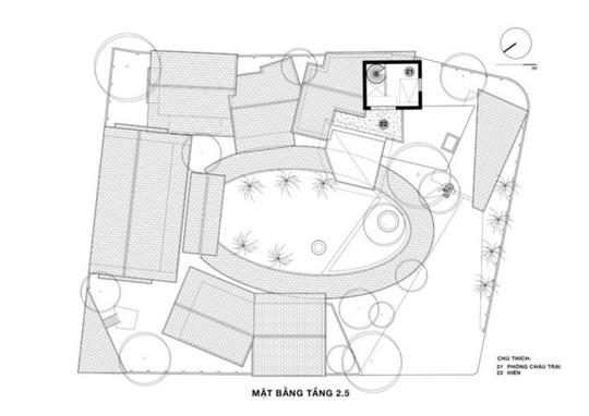 Ngôi nhà như ruộng mấp mô đạt giải vàng kiến trúc Việt Nam - Ảnh 12.