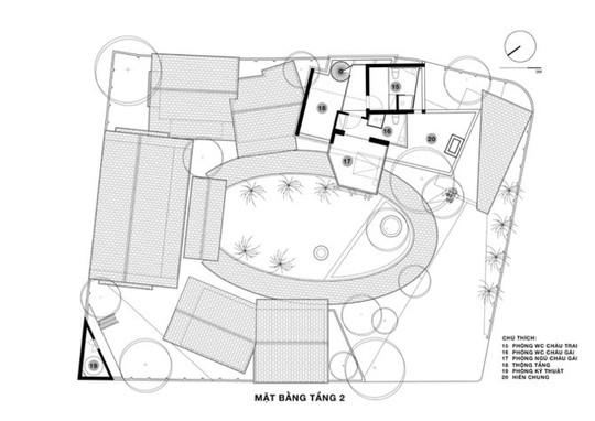 Ngôi nhà như ruộng mấp mô đạt giải vàng kiến trúc Việt Nam - Ảnh 11.