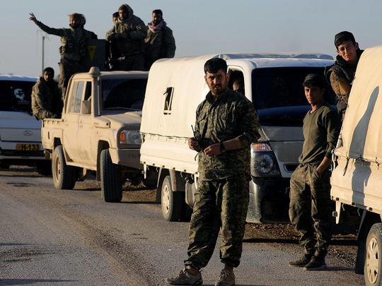 IS vùng dậy ở miền Trung Syria, đoạt mạng 35 binh sĩ - Ảnh 1.