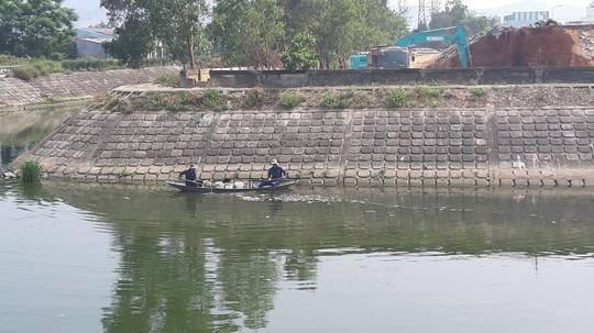 Đà Nẵng: Cá chết trắng kênh cạnh trạm xử lý nước thải - Ảnh 4.