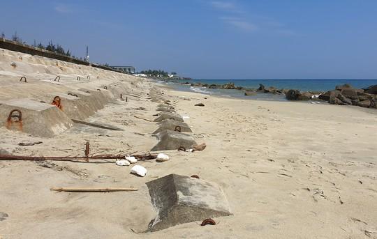 Đảo khủng long ở Cửa Đại tiếp tục rộng ra, bồi về 3 hướng - Ảnh 15.