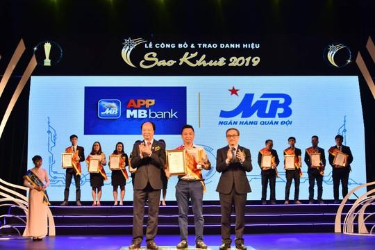 App MBBank - App ngân hàng số duy nhất cho khách hàng - đạt danh hiệu Sao Khuê 2019 - Ảnh 1.