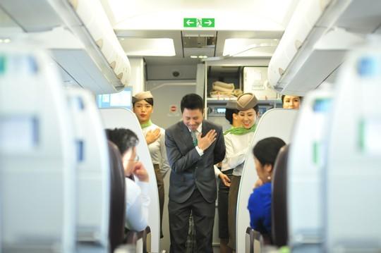 Những hình ảnh đẹp của Phi đoàn hạnh phúc Bamboo Airways - Ảnh 1.