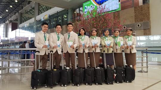 Những hình ảnh đẹp của Phi đoàn hạnh phúc Bamboo Airways - Ảnh 12.