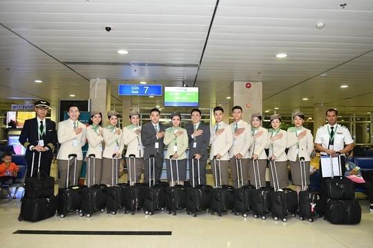 Những hình ảnh đẹp của Phi đoàn hạnh phúc Bamboo Airways - Ảnh 13.