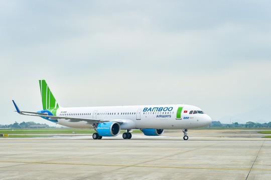 Bamboo Airways liên tục đón máy bay mới trước thềm nghỉ lễ - Ảnh 2.