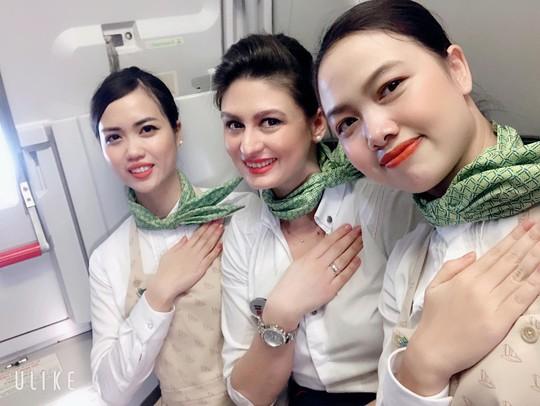 Những hình ảnh đẹp của Phi đoàn hạnh phúc Bamboo Airways - Ảnh 2.