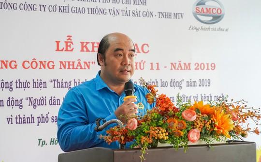 Công đoàn SAMCO tưng bừng khai mạc Tháng Công nhân - Ảnh 1.