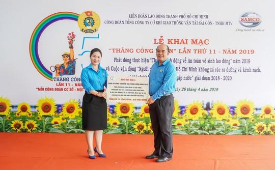 Công đoàn SAMCO tưng bừng khai mạc Tháng Công nhân - Ảnh 2.