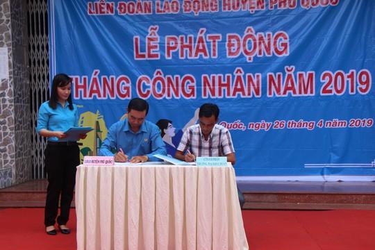 LĐLĐ huyện Phú Quốc: Ký thỏa thuận hợp tác chăm lo cho đoàn viên - Ảnh 2.