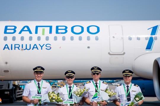 Bamboo Airways đón chuyến bay quốc tế đầu tiên từ Hàn Quốc - Ảnh 2.