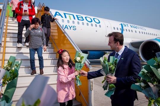 Bamboo Airways đón chuyến bay quốc tế đầu tiên từ Hàn Quốc - Ảnh 6.