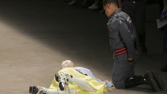 Người mẫu đột tử trên sàn diễn - Ảnh 2.