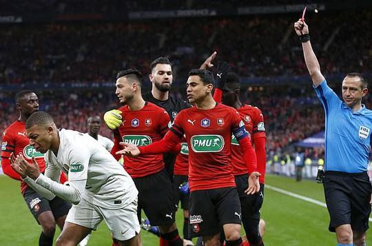 Neymar tái xuất, Mbappe nhận thẻ đỏ, PSG mất cúp - Ảnh 6.