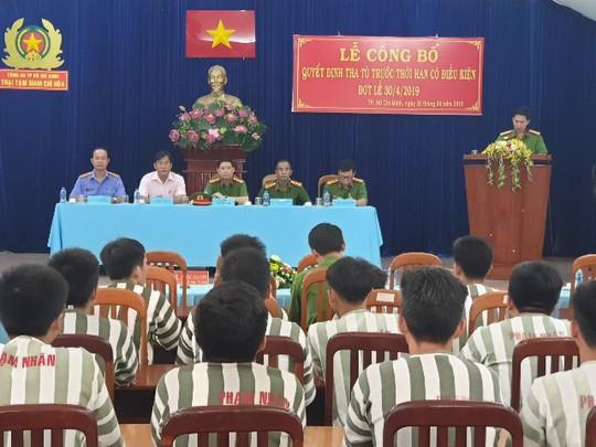 TP HCM: 90 phạm nhân được giảm án tù dịp Lễ 30-4 - Ảnh 1.