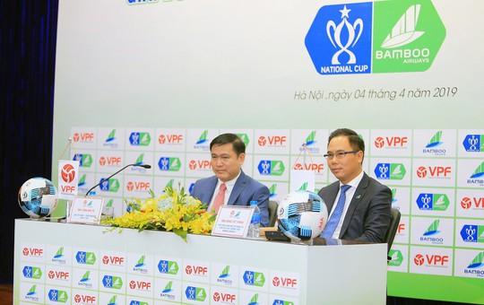 Ký kết tài trợ giải bóng đá Cúp quốc gia Bamboo Airways 2019 - Ảnh 3.