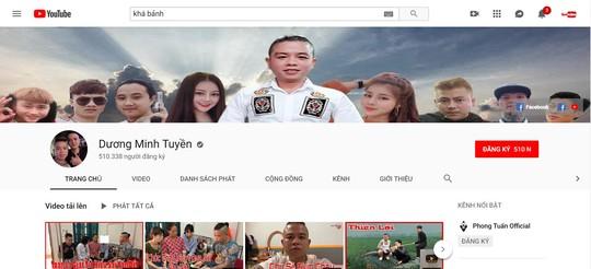 Đến lượt kênh YouTube của thánh chửi Dương Minh Tuyền bị khóa - Ảnh 1.