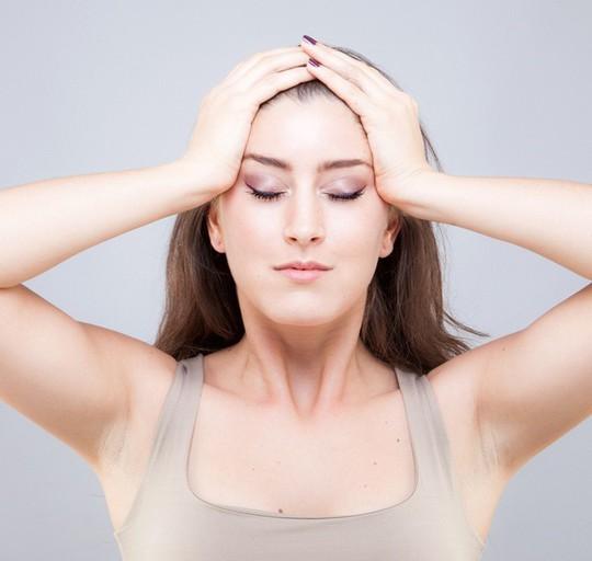 Bài tập yoga giảm béo mặt, xóa mờ nếp nhăn thần kì - Ảnh 8.