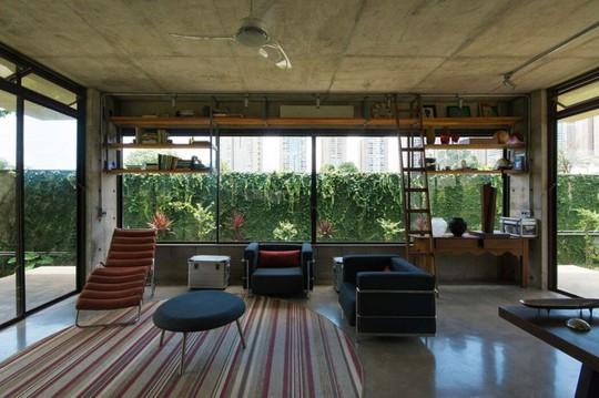 Ngôi nhà 2 tầng làm bằng bê tông đúc sẵn - Ảnh 3.