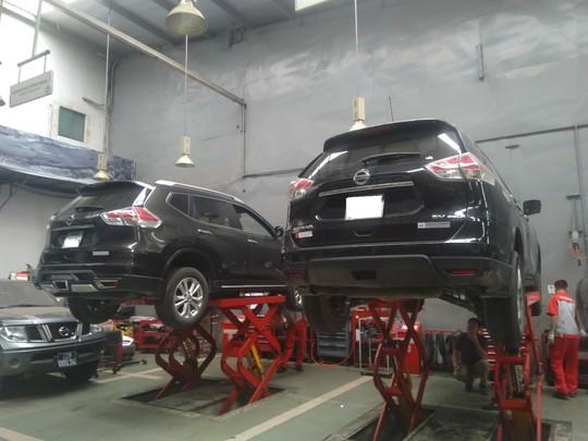 Nhiều xe Nissan X-Trail bị rò rỉ nhớt