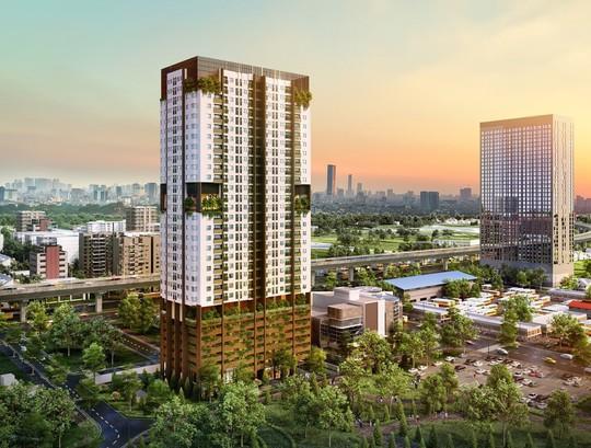 Khu đỗ xe thông minh trong dự án ngàn tỉ FLC Green Apartment - Ảnh 2.