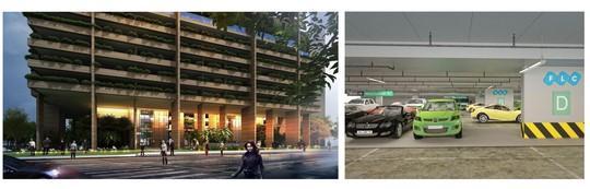 Khu đỗ xe thông minh trong dự án ngàn tỉ FLC Green Apartment - Ảnh 1.