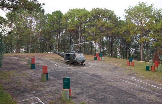 Dinh thự có hầm và bãi đáp trực thăng của vua Bảo Đại ở Đà Lạt - Ảnh 3.