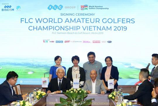 "FLC đăng cai ""FLC World Amateur Golfers Championship Vietnam 2019"" - Ảnh 1."