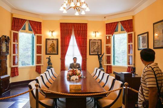 Dinh thự có hầm và bãi đáp trực thăng của vua Bảo Đại ở Đà Lạt - Ảnh 6.