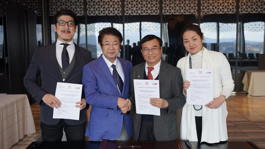 Tập đoàn M&K Nhật Bản ký kết hợp tác toàn diện với Đại học Đông Á - Ảnh 2.