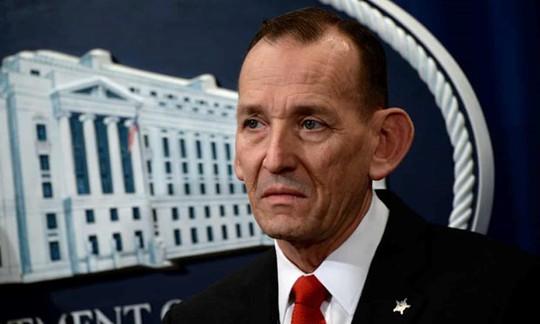 Bộ trưởng an ninh nội địa vừa từ chức, ông Trump lập tức bãi nhiệm giám đốc sở mật vụ - Ảnh 1.