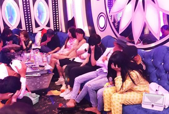 Dot kich kiem tra MTV Nhac Tre phat hien 70 khach duong tinh voi Ketamin