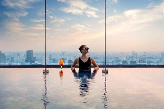 Có gì bên trong khách sạn siêu sang cao nhất Đông Nam Á? - Ảnh 4.