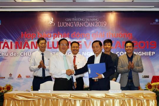 Công bố giải thưởng tài năng Lương Văn Can 2019 - Ảnh 1.