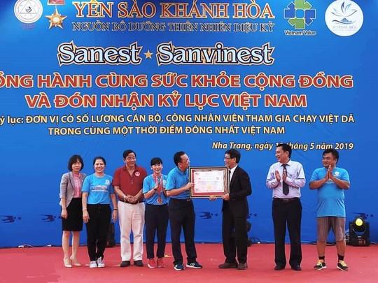 Giải việt dã 2.222 người của Yến sào Khánh Hòa lập kỷ lục Việt Nam - Ảnh 8.