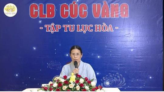 Trụ trì chùa Ba Vàng nói gì về việc bà Phạm Thị Yến tái xuất đăng đàn thuyết giảng? - Ảnh 2.