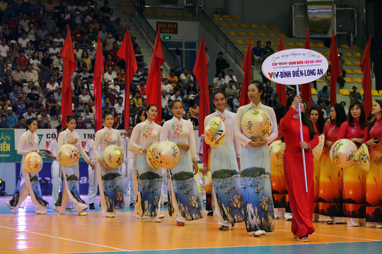 VTV Bình Điền Long An đánh bại Đại học Nam Kinh (Trung Quốc) - Ảnh 6.