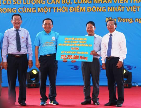 Giải việt dã 2.222 người của Yến sào Khánh Hòa lập kỷ lục Việt Nam - Ảnh 10.
